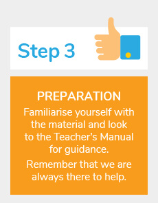 How Clonard Homeschooling Works Step 3 Preparation