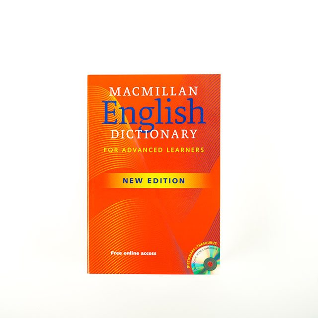 MacMillan English Dictionary Cover
