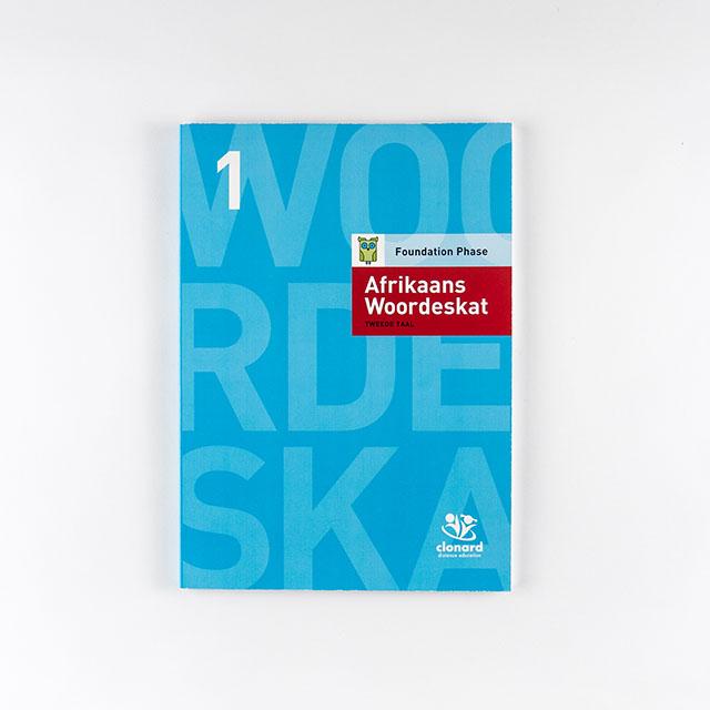 Clonard Grade 3-Afrikaans Woordeskat – Cover
