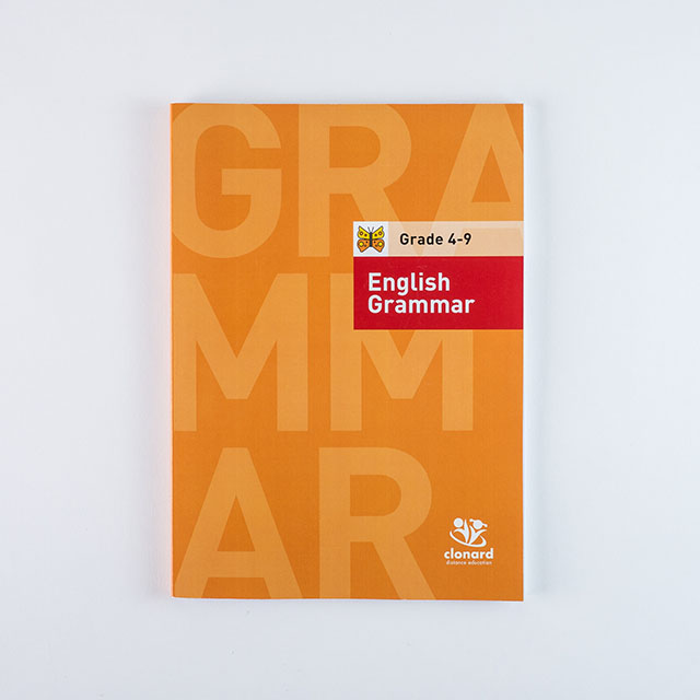 Clonard Grade 4-English Grammar Cover