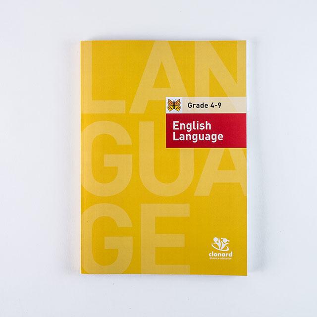 Clonard Grade 4-English Language Cover