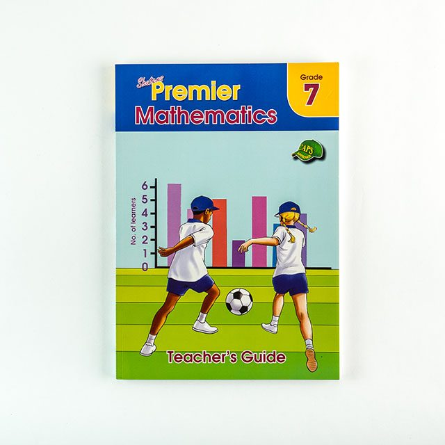 Grade 7 Premier Maths Book Cover