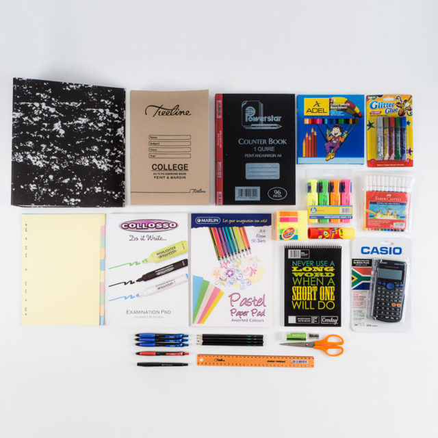 Grade 8 - 10 Stationery Pack | Clonard