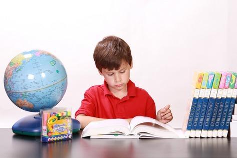 Homeschooling classroom