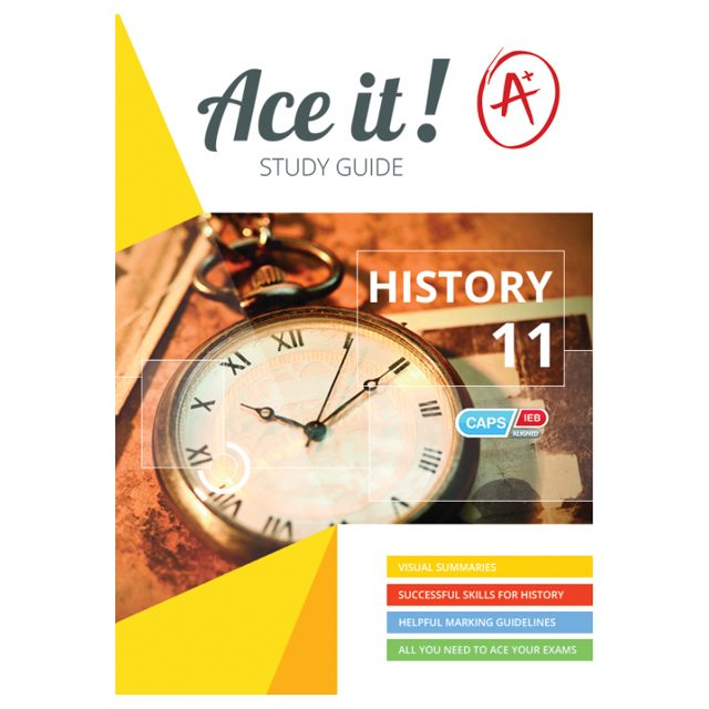 Ace It Study Guides Grade 11