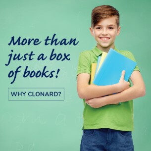 Clonard | Boy with Books