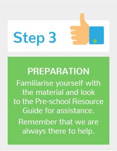 pre-school how it works step 3