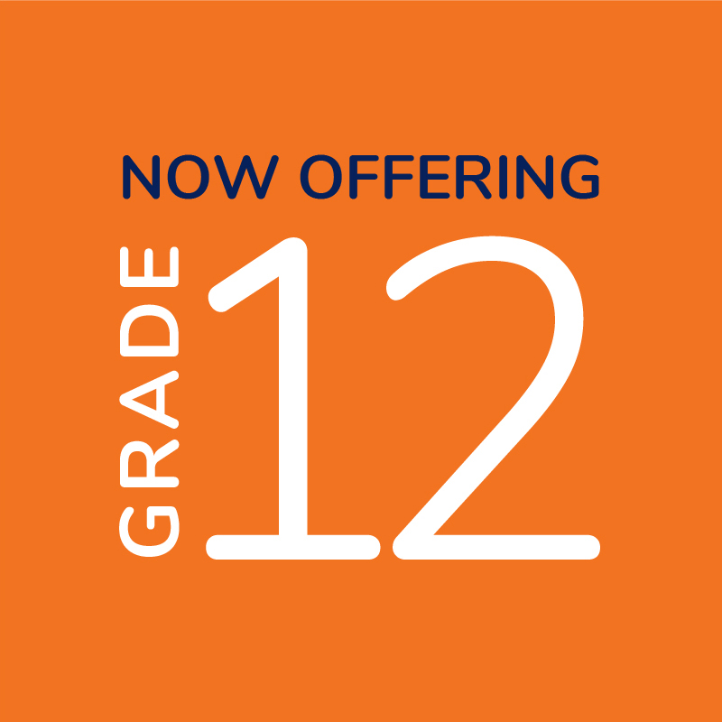 Grade 12 Now Offered